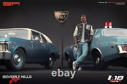 118 Beverly Hills Cop Eddie Murphy figurine VERY RARE! NO CARS! For SF