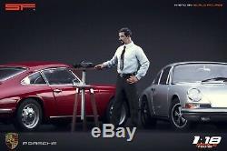 118 Ferdinand Porsche BUTZI VERY RARE! Figurine, NO CARS! For porsche 911
