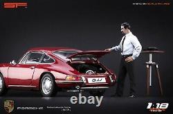 118 Ferdinand Porsche BUTZI VERY RARE! Figurine NO CARS! For porsche 911 SF