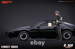 118 Knight Rider (Michael Knight) VERY RARE! Figurine NO CARS! For KITT SF