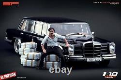 118 Pablo Escobar figurine VERY RARE! NO CARS! For diecast by SF