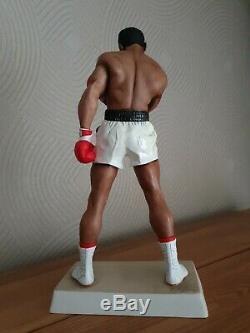 16 Muhammad Ali Grogg Boxing Figure Figurine Sculpture Exc Condition Ltd Edn