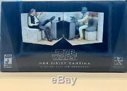 2006 Star Wars Mos Eisley Cantina Gentle Giant Limited Edition Bookends
