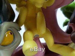 8.5in Discord Flutter On Ltd. WeLoveFine Resin Fluttershy Discord Statue READ