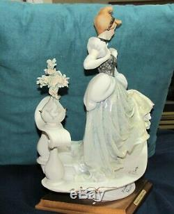 ARMANI CINDERELLA DISNEY Figurine 0783-C LIMITED EDITION RARE #387/500 Box Bag