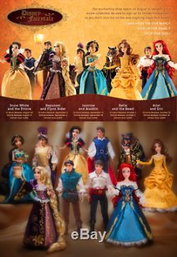 BN LE6000 Disney Designer Fairytale Collection RAPUNZEL & FLYNN RIDER Dolls