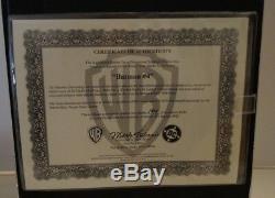 Batman #4 Warner Brothers Limited Edition Shadow Box