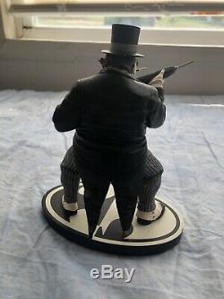 Batman Black & White The Penguin Statue DC Direct Ltd Edition 621/2100 Bolland