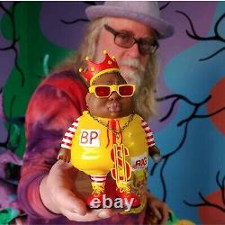 Big Poppa MC Limited Edition Toy Ron English x Clutter Signed AP