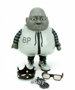 Big Poppa MC Monotone Edition Limited Edition Toy 1/100 Ron English x Clutter