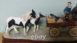 Border Fine Arts'All Set For Appleby Fair' Model B1153 Limited Edition 226/600