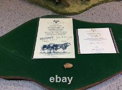 Border Fine Arts KIRSTY ARMSTRONG Signed Limited Edition SIMMENTAL FAMILY GROUP
