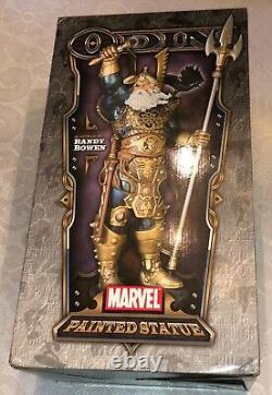 Bowen Designs Marvel Odin Faux Bronze Limited Edition Statue #195/300 MINT