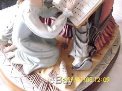 CAPODIMONTE FIGURE THE STORY TELLER BY CORTESES LIMITED EDITION No 554