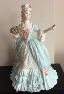COALPORT MARIE ANTOINETTE figurine Femmes Fatale Ltd Ed, By John Bromley