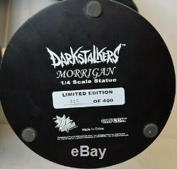 Capcom Darkstalkers Morrigan 1/4 scale Statue Limited Edition 143 of 400 See des
