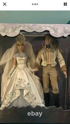 Cinderella 70th Anniversary Wedding Dolls