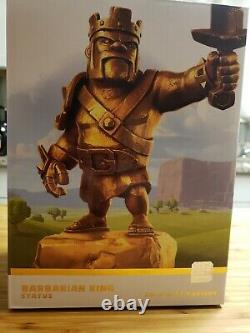 Clash Of Clans Barbarian King Statue 2018 Gold Variant LIMITED EDITION NIB New