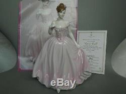 Coalport Figure # The Rose Ball # Limited Edition Certificate & Brochure