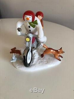 Coalport Figurine Limited Edition Number 1990 The Snowman Hold On Tight New
