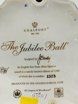 Coalport Figurine the Jubilee Balll Limited edition of 7500
