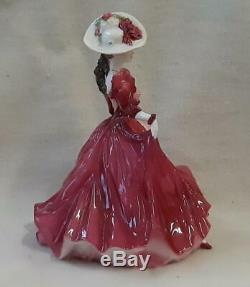 Coalport Limited Edition Figurine Scarlett Literary Heroines