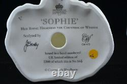Coalport Limited Edition Royal Bride Figurine Sophie Countess Of Wessex