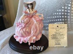 Coalport Literary Heroines Figurines limited edition complete four piece set