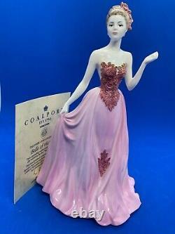 Coalport Ltd Edition Figurine! Park Lane Collection! Belle of The Ball! Rare