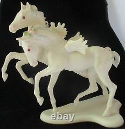 Cybis Porcelain Pegasus Colts'flight And Fancy' Limited Edition Figurine