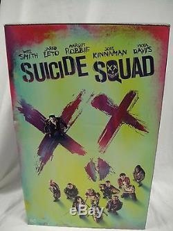 DC COMICS HARLEY QUINN Suicide Squad STATUE FIGURINE JOKER BATMAN DVD BLU-RAY