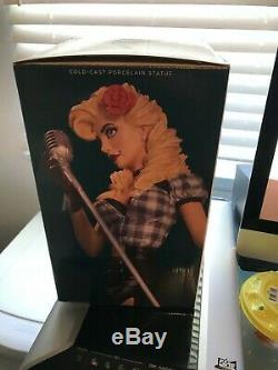 DC Comics Bombshells Black Canary Statue Limited Edition 358 of 5200