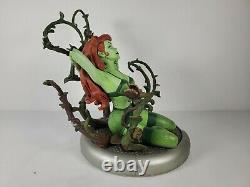 DC Comics Bombshells Poison Ivy Statue 4668/5200 Limited Edition DAMAGED