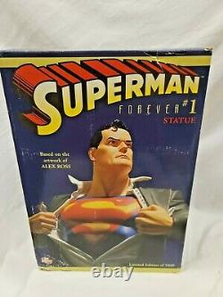 DC Comics SUPERMAN FOREVER #1 STATUE ALEX ROSS LIMITED EDITION CLARK KENT Bust