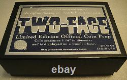 DC Direct Batmantwo Face Limited Edition Official Coin Prop Replica Dark Knight