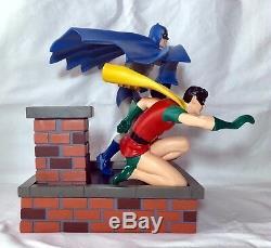 DC Direct Silver Age Batman & Robin Full-size Statue Mint In Box Ltd To 850