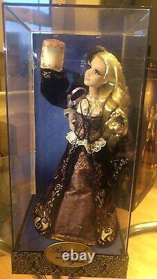 DISNEY FAIRYTALE DESIGNER RAPUNZEL & FLYNN RIDER Dolls Limited Edtion