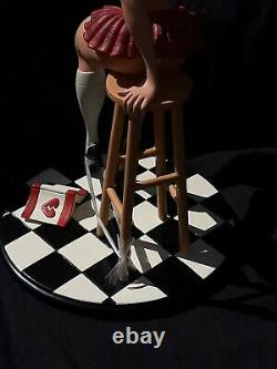 Dirty Detention Girls Heather Hartlace Limited Edition Statue Scott Tolleson New