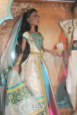 Disney Aladdin and Jasmine Limited Edition Highly Collectable Dolls