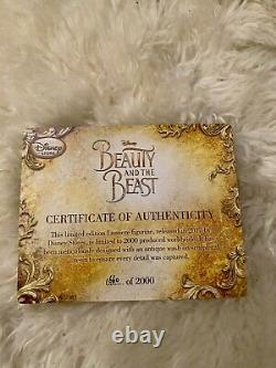 Disney Beauty And The Beast 2017 Lumiere Candelabra Limited Edition