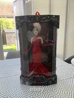 Disney Cruella De Ville Doll Limited Edition In Hand QUICK POSTAGE