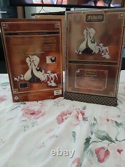 Disney Designer Folktale Series LE Cruella De Vil Doll 101 Dalmatians
