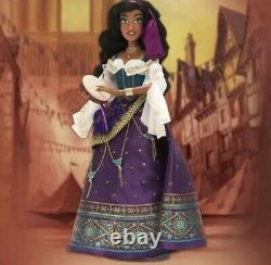 Disney Esmeralda Limited Edition Doll 25th Anniversary IN HAND FAST