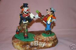 Disney Goofy Ron Lee Hobo Jo Limited Edition Collectible Figurine Disney Golf