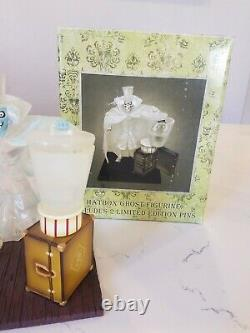 Disney Haunted mansion Hatbox ghost Figurine Limited edition 40th Anniversary