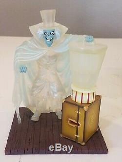 Disney Haunted mansion Hatbox ghost Figurine Limited edition o pin house glows