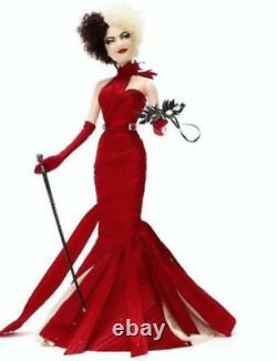 Disney Limited Edition Cruella Doll Can ship today! New In box