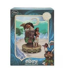 Disney Maui and Moana Limited Edition 1700 Figurine Medium Big Fig 10