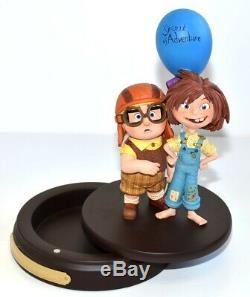Disney Pixar Up Carl & Ellie figure Limited Edition, Disneyland Paris Exclusive