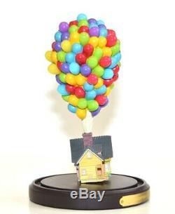 Disney Pixar Up! House under glass Dome Figure Limited Edition, Disneyland Paris